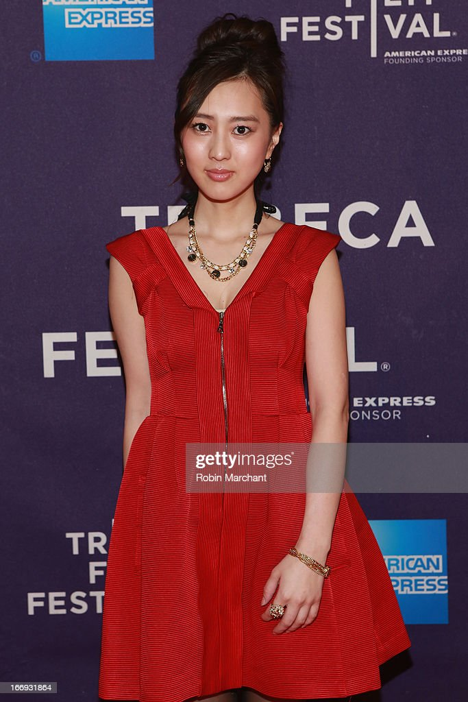 Actress Kiki Sugino attends the 'Odayaka' World Premiere during the 2013 Tribeca Film Festival on April 18, 2013 in New York City.