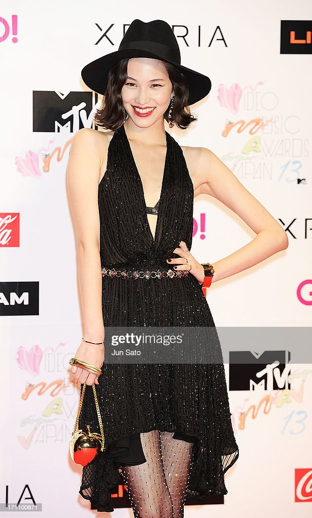 Actress Kiko Mizuhara attends the MTV Video Music Awards Japan 2013 at Makuhari Messe on June 22, 2013 in Chiba, Japan.
