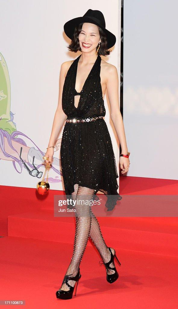 Actress Kiko Mizuhara attends the MTV Video Music Awards Japan 2013 at Makuhari Messe on June 22, 2013 in Chiba, Japan.