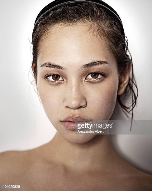 Actress Kiko Mizuhara poses for a portrait session in Venice on September 03 during 67th Venice International Film Festival Film 'Norwegian Wood' by...