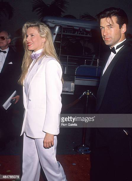 Actress Kim Basinger and actor Alec Baldwin attend Warner Bros Hosts a 'Celebration of Tradiition' Gala to Celebrate the Rededication of the Warner...