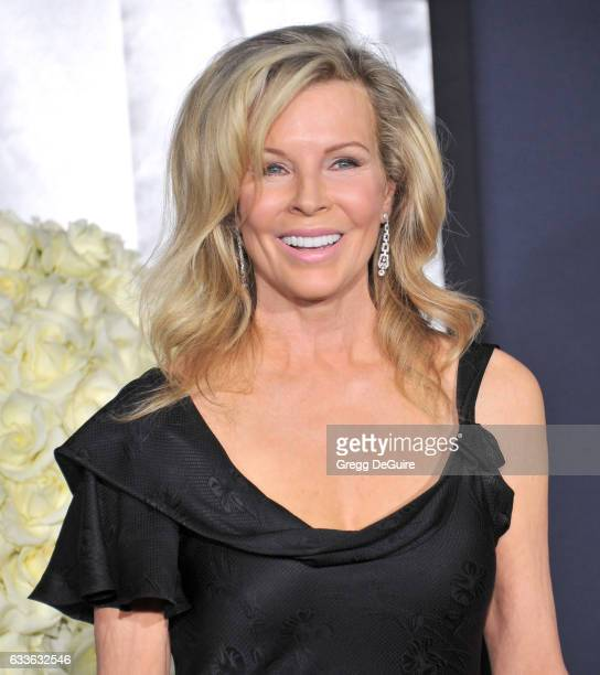 Actress Kim Basinger arrives at the premiere of Universal Pictures' 'Fifty Shades Darker' at The Theatre at Ace Hotel on February 2 2017 in Los...