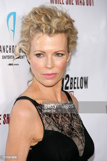 Actress Kim Basinger arrives at the 'While She Was Out' premiere at ArcLight Cinemas on December 9 2008 in Hollywood California