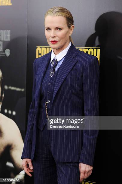 Actress Kim Basinger attends the 'Grudge Match' screening benefiting the Tribeca Film Insititute at Ziegfeld Theater on December 16 2013 in New York...