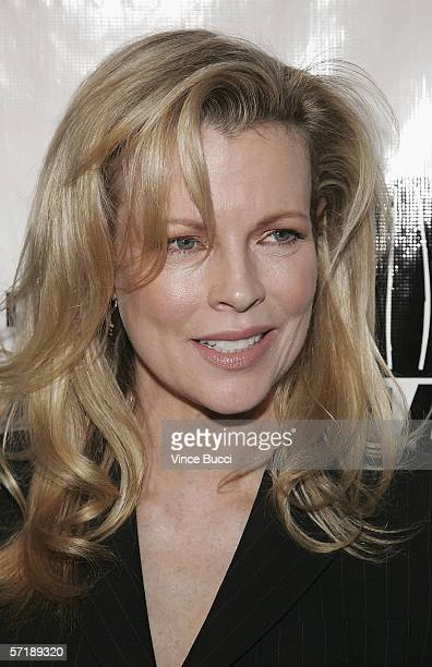 Actress Kim Basinger attends the premiere of the HBO American Undercover documentary 'Dealing Dogs' on March 26 2006 at Paramount Studios in Los...