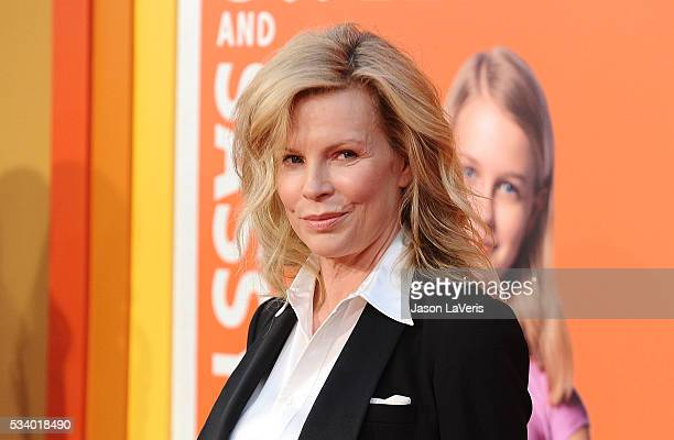 Actress Kim Basinger attends the premiere of 'The Nice Guys' at TCL Chinese Theatre on May 10 2016 in Hollywood California