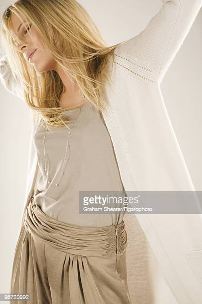 Actress Kim Basinger poses at a portrait session in Paris France for Madame Figaro Published image CREDIT MUST READ Graham...