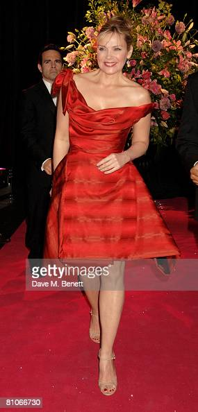 Actress Kim Cattrall attends the afterparty following the premiere of 'Sex and the City The Movie' at Old Billingsgate Market May 12 2008 in London...