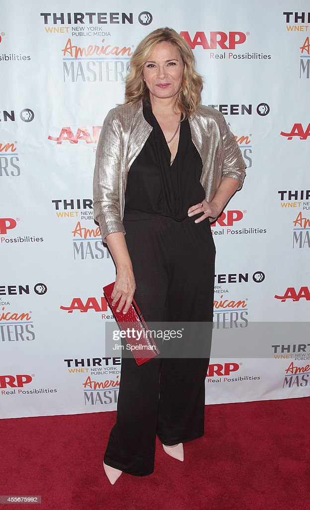 Actress Kim Cattrall attends the 'American Masters The Boomer List' New York Premiere at Paley Center For Media on September 18 2014 in New York City