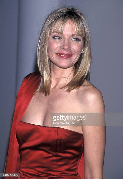 Actress Kim Cattrall attends the 'Gipsy Passion' Opening Night Performance on June 2 1998 at the City Center in New York City