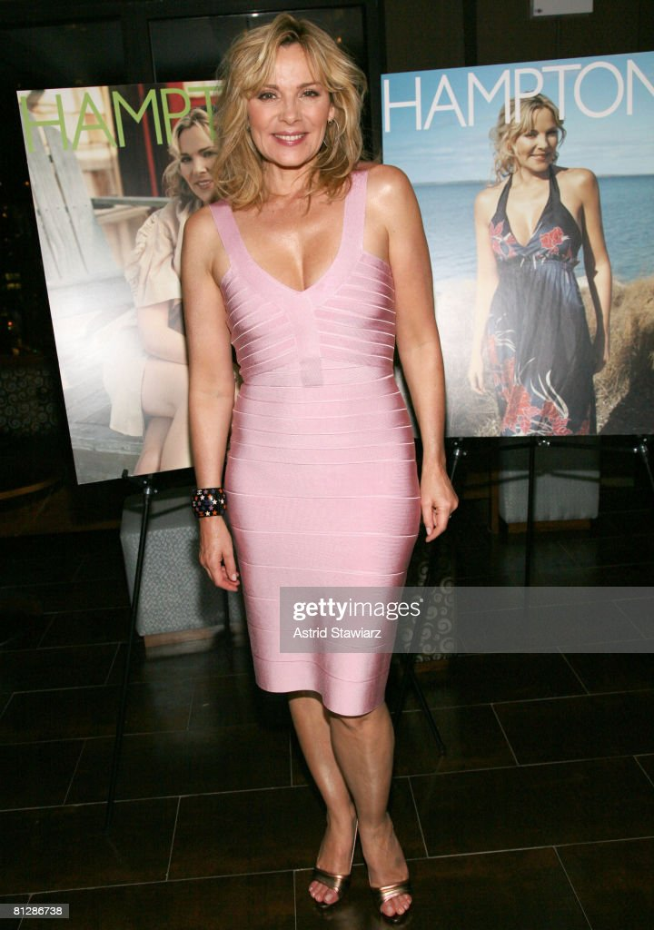 Actress Kim Cattrall attends the Hamptons Magazine 30th Celebration Anniversary at the rooftop of the Empire Hotel on May 29 2008 in New York City