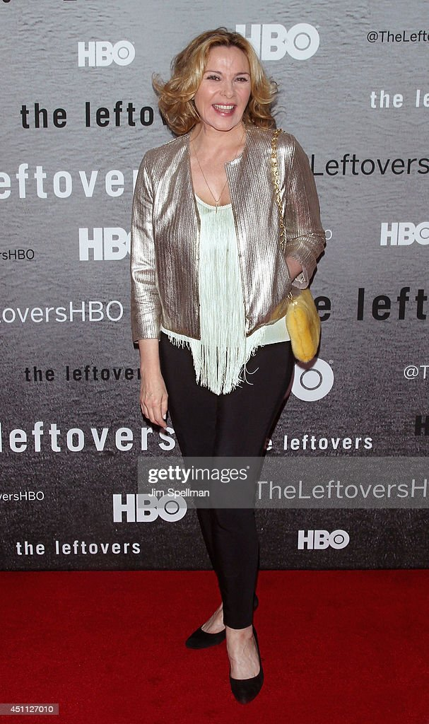 Actress <a gi-track='captionPersonalityLinkClicked' href=/galleries/search?phrase=Kim+Cattrall&family=editorial&specificpeople=202214 ng-click='$event.stopPropagation()'>Kim Cattrall</a> attends 'The Leftovers' premiere at NYU Skirball Center on June 23, 2014 in New York City.