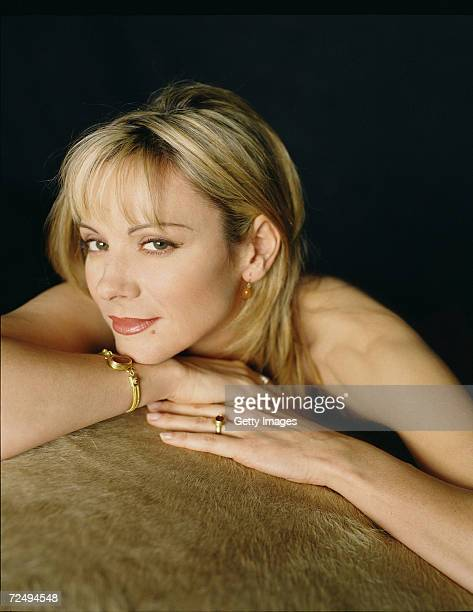 Actress Kim Cattrall of 'Sex and the City' pose for a portrait