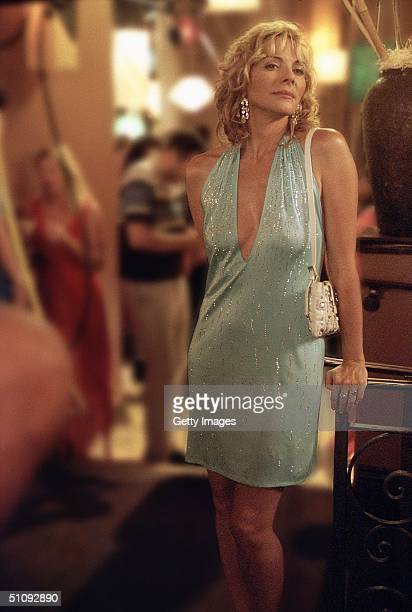 Actress Kim Cattrall Stars As Samantha In The Hbo Comedy Series 'Sex And The City' The Third Season