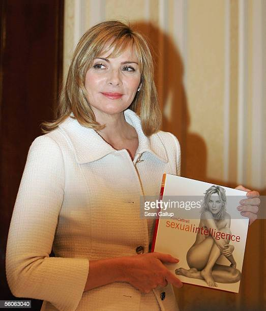 Actress Kim Cattrall who played the character of Samantha in the television series 'Sex and the City' arrives for a press conference for the release...