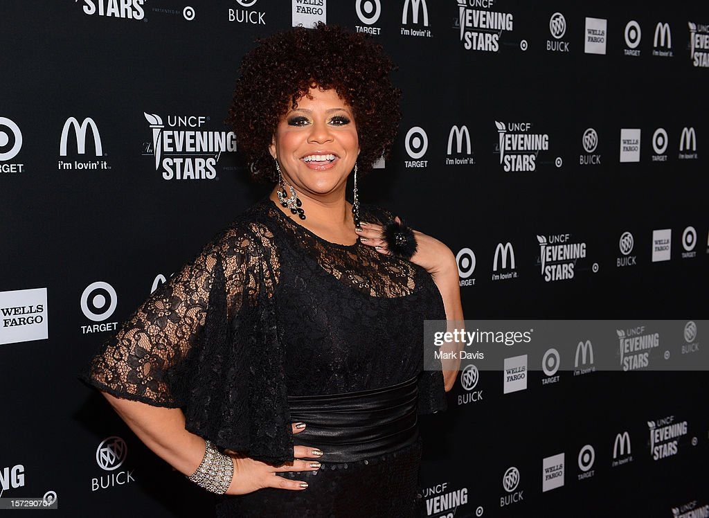 Actress Kim Coles arrives at UNCF's 34th Annual An Evening Of Stars held at Pasadena Civic Auditorium on December 1, 2012 in Pasadena, California.