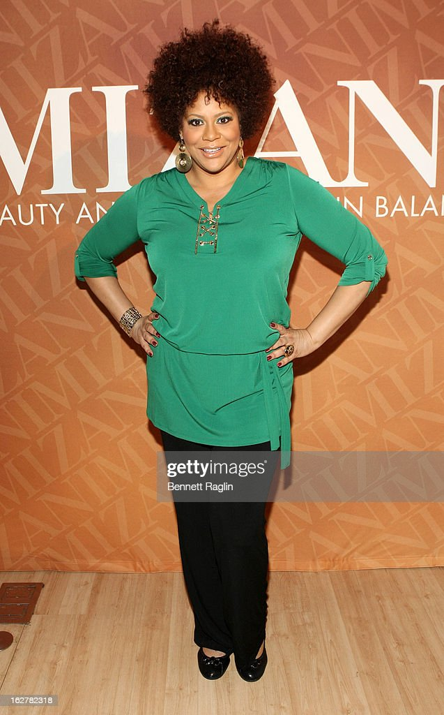 Actress Kim Coles attends 'The Spoken Word' Hosted By Kim Coles at L'Oreal Soho Academy on February 26, 2013 in New York City.