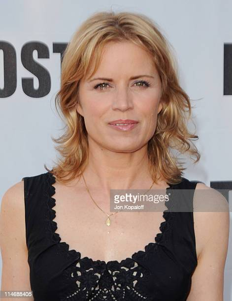 Actress Kim Dickens arrives at 'LOST Live' The Final Celebration at Royce Hall UCLA on May 13 2010 in Westwood California