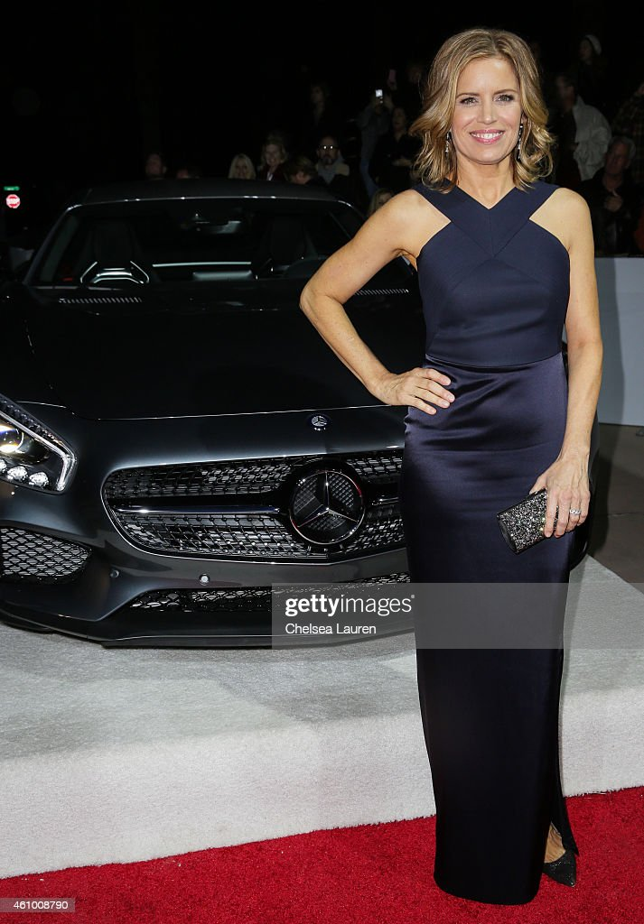 Actress Kim Dickens arrives with Mercedes-Benz at the 26th annual Palm Springs International Film Festival Awards Gala on January 3, 2015 in Palm Springs, California.