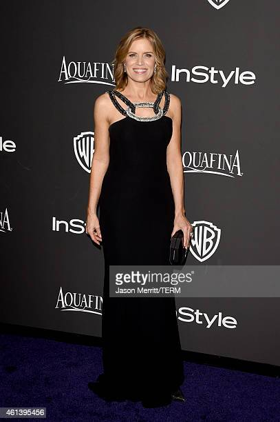 Actress Kim Dickens attends the 2015 InStyle And Warner Bros 72nd Annual Golden Globe Awards PostParty at The Beverly Hilton Hotel on January 11 2015...