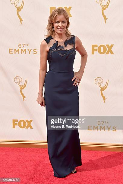 Actress Kim Dickens attends the 67th Emmy Awards at Microsoft Theater on September 20 2015 in Los Angeles California 25720_001