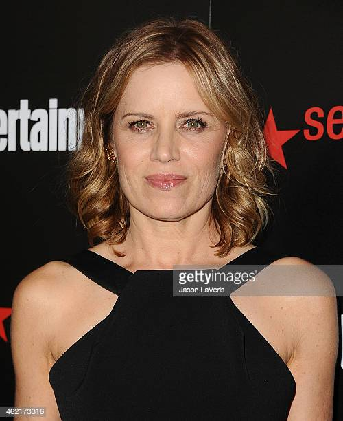 Actress Kim Dickens attends the Entertainment Weekly celebration honoring nominees for the Screen Actors Guild Awards at Chateau Marmont on January...
