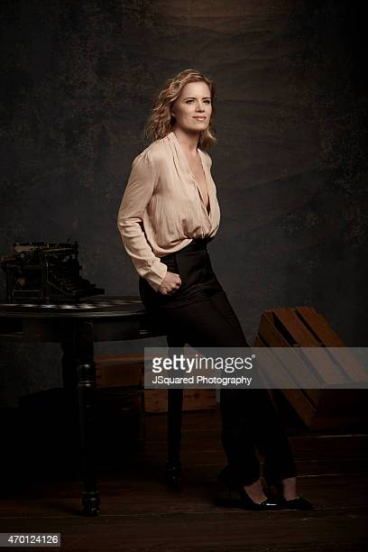 Actress Kim Dickens is photographed for Emmy Magazine on February 7 2015 in Los Angeles California PUBLISHED IMAGE