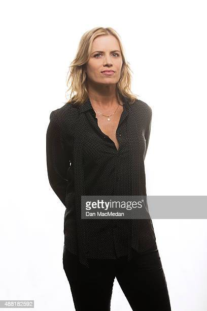 Actress Kim Dickens is photographed for USA Today on July 31 2015 in Beverly Hills California