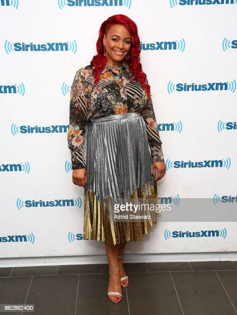 Actress Kim Fields visits the SiriusXM Studios on October 18 2017 in New York City