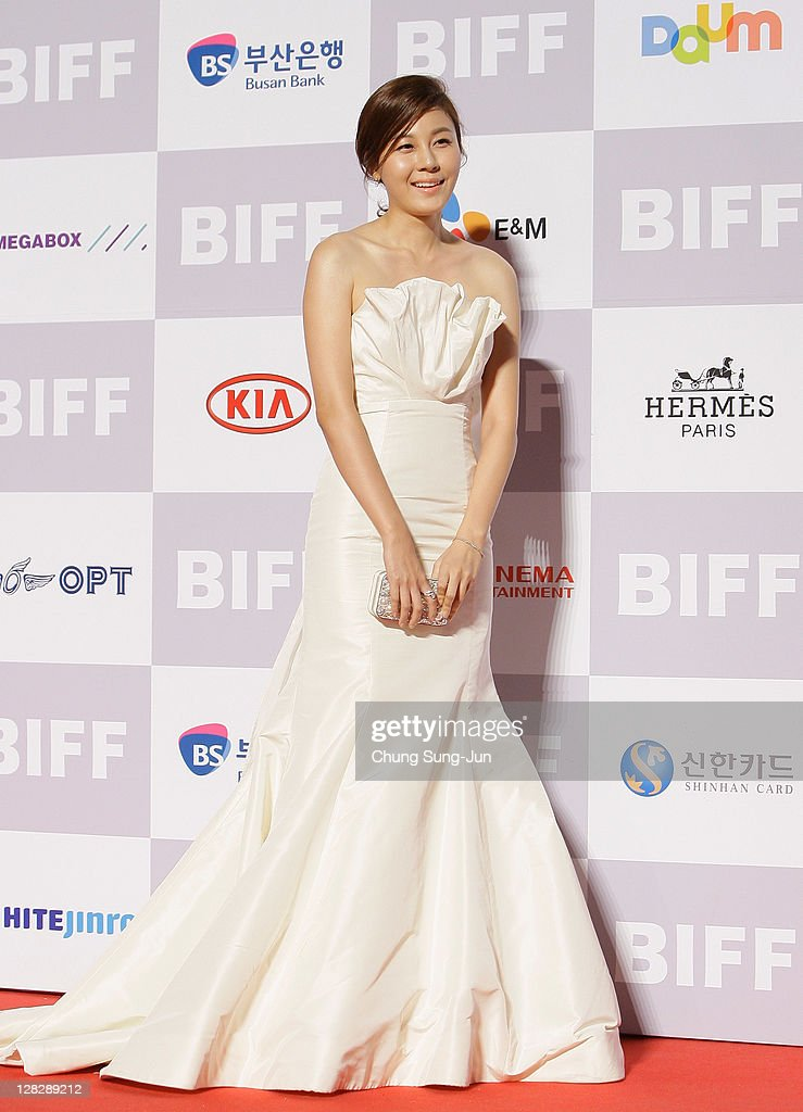 Actress Kim Ha-Neul arrives for the opening ceremony of the 16th Busan International Film Festival (BIFF) at the Busan Cinema Center on October 6, 2011 in Busan, South Korea. The biggest film festival in Asia showcases 307 films from 70 countries and runs from October 6-14.