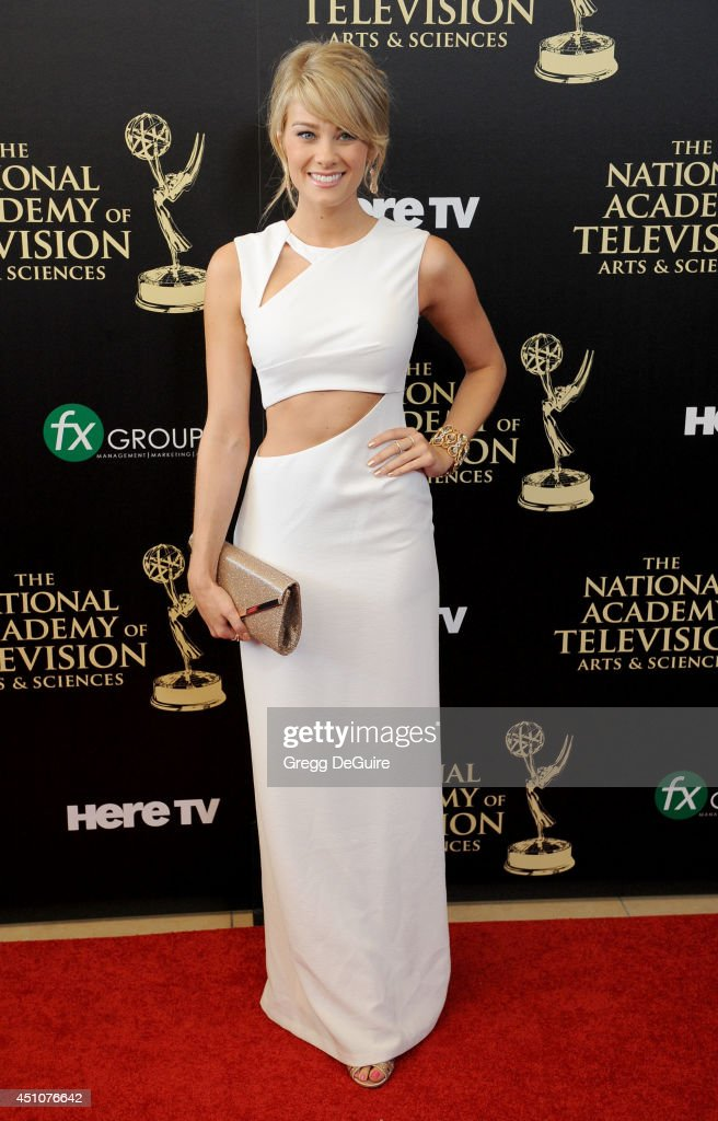 Actress Kim Matula arrives at the 41st Annual Daytime Emmy Awards at The Beverly Hilton Hotel on June 22, 2014 in Beverly Hills, California.