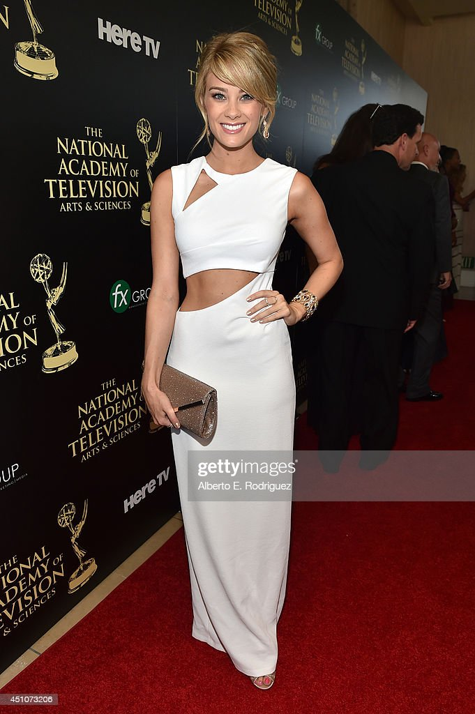 Actress Kim Matula attends The 41st Annual Daytime Emmy Awards at The Beverly Hilton Hotel on June 22, 2014 in Beverly Hills, California.