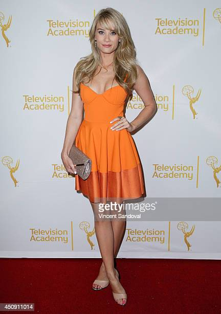 Actress Kim Matula attends the Television Academy Daytime Emmy Nominee reception at The London West Hollywood on June 19 2014 in West Hollywood...
