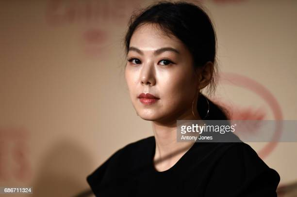 Actress Kim Min Hee attends the 'The Day After ' press conference during the 70th annual Cannes Film Festival on May 22 2017 in Cannes France