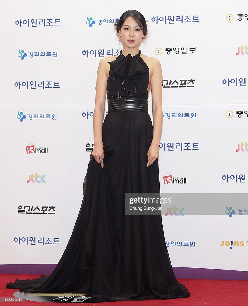 Actress <a gi-track='captionPersonalityLinkClicked' href=/galleries/search?phrase=Kim+Min-Hee&family=editorial&specificpeople=5629332 ng-click='$event.stopPropagation()'>Kim Min-Hee</a> arrives for the 49th Paeksang Arts Awards on May 9, 2013 in Seoul, South Korea.