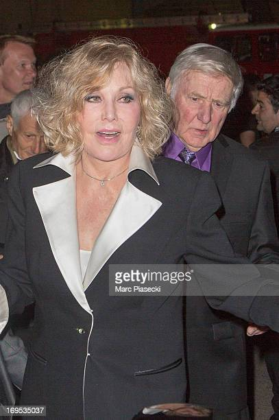 Actress Kim Novak and Robert Malloy arrive at the 'Agora' dinner during the 66th Annual Cannes Film Festival on May 26 2013 in Cannes France