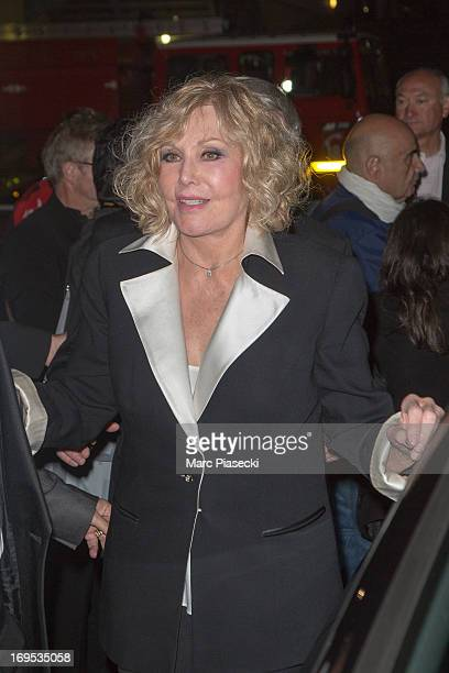 Actress Kim Novak arrives at the 'Agora' dinner during the 66th Annual Cannes Film Festival on May 26 2013 in Cannes France