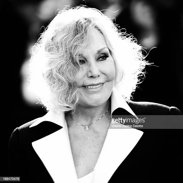 Actress Kim Novak attends the 'La Venus A La Fourrure' premiere during The 66th Annual Cannes Film Festival at Theatre Lumiere on May 25 2013 in...