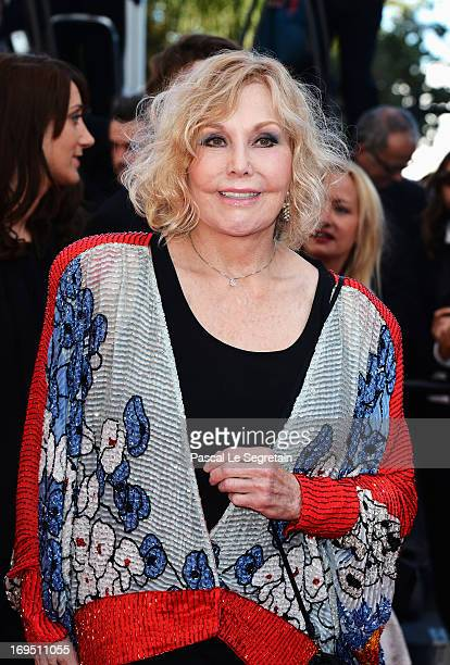 Actress Kim Novak attends the 'Zulu' Premiere and Closing Ceremony during the 66th Annual Cannes Film Festival at the Palais des Festivals on May 26...