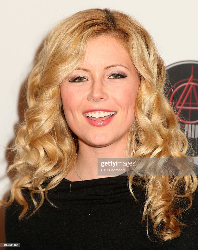 Actress Kim Poirier arrives at Make A Film Foundation's 'Kidz 4 Kidz' Comedy 4 A Cau$e Benefit Show at Writers Guild Theater on March 7, 2013 in Beverly Hills, California.