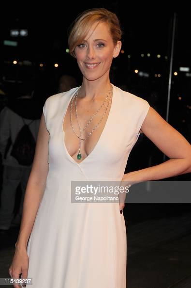 Actress Kim Raver arrives at New Yorkers for Children Celebrates New Year's in April A Fool's Fete on April 16 2008 at the Mandarin Oriental Time...