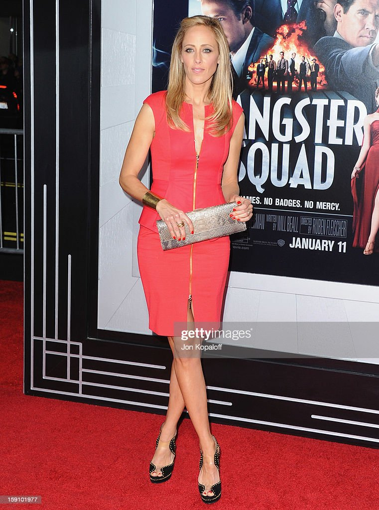 Actress Kim Raver arrives at the Los Angeles Premiere 'Gangster Squad' at Grauman's Chinese Theatre on January 7, 2013 in Hollywood, California.