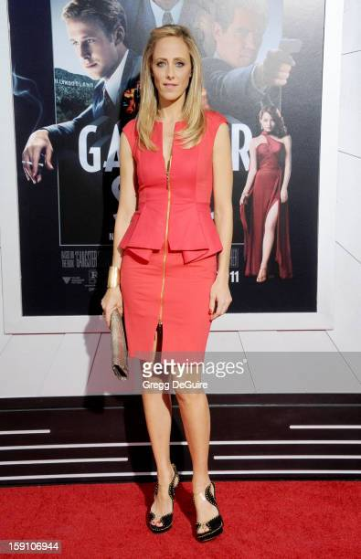 Actress Kim Raver arrives at the Los Angeles premiere of 'Gangster Squad' at Grauman's Chinese Theatre on January 7 2013 in Hollywood California