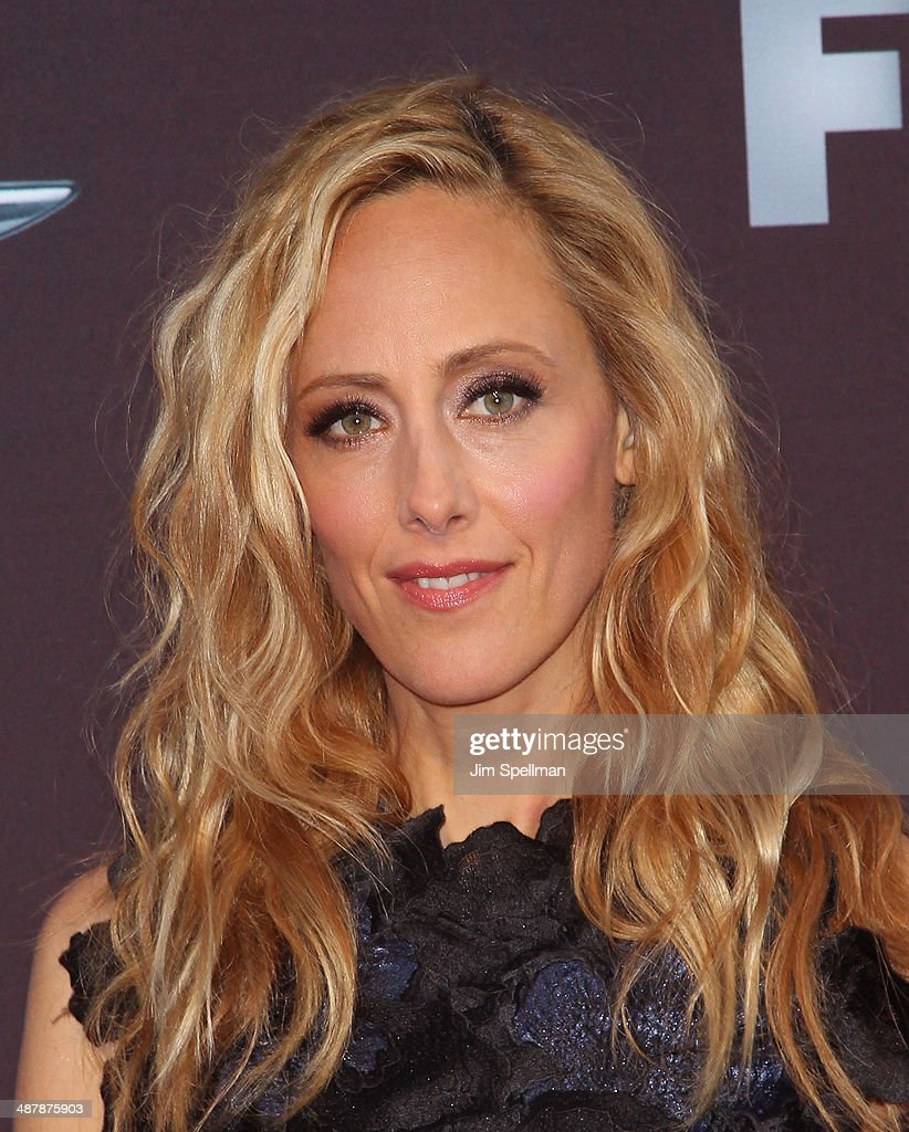 Actress Kim Raver attends '24 Live Another Day' World Premiere at Intrepid Sea on May 2 2014 in New York City