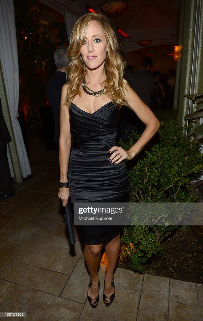Actress Kim Raver attends the Entertainment Weekly Pre-SAG Party hosted by Essie and Audi held at Chateau Marmont on January 26, 2013 in Los Angeles, California.