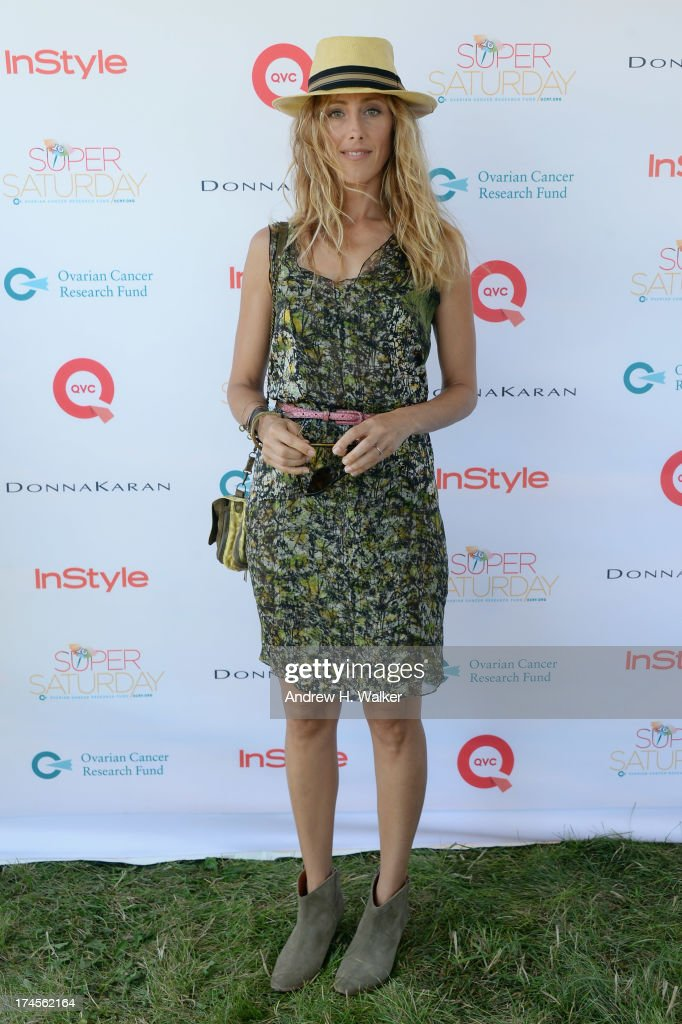 Actress <a gi-track='captionPersonalityLinkClicked' href=/galleries/search?phrase=Kim+Raver&family=editorial&specificpeople=213709 ng-click='$event.stopPropagation()'>Kim Raver</a> attends the Ovarian Cancer Research Fund's 16th Annual Super Saturday hosted by Kelly Ripa and Donna Karan at Nova's Ark Project on July 27, 2013 in Water Mill, NY.