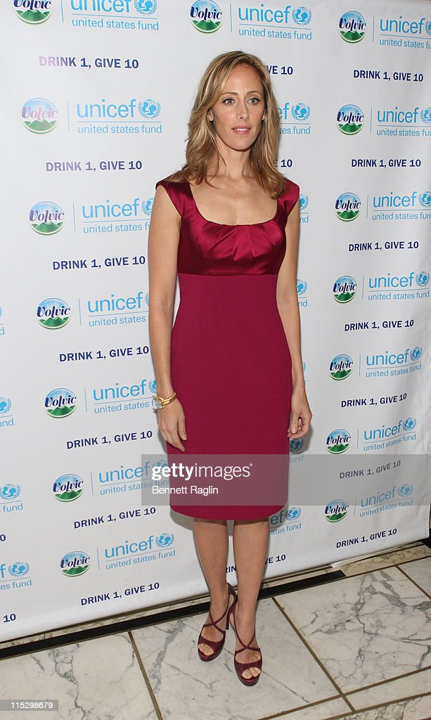 Actress Kim Raver honored for her work with the 'Drink 1 Give 10' campaign at that Cultural Services of the French Embassy on December 10 2008 in New...