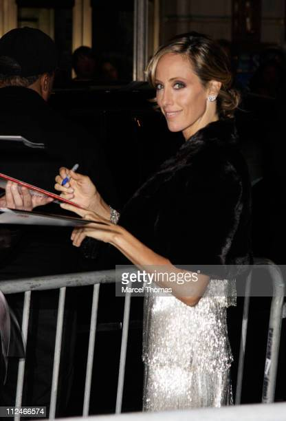Actress Kim Raver is seen on the streets of Manhattan on November 9 2008 in New York City