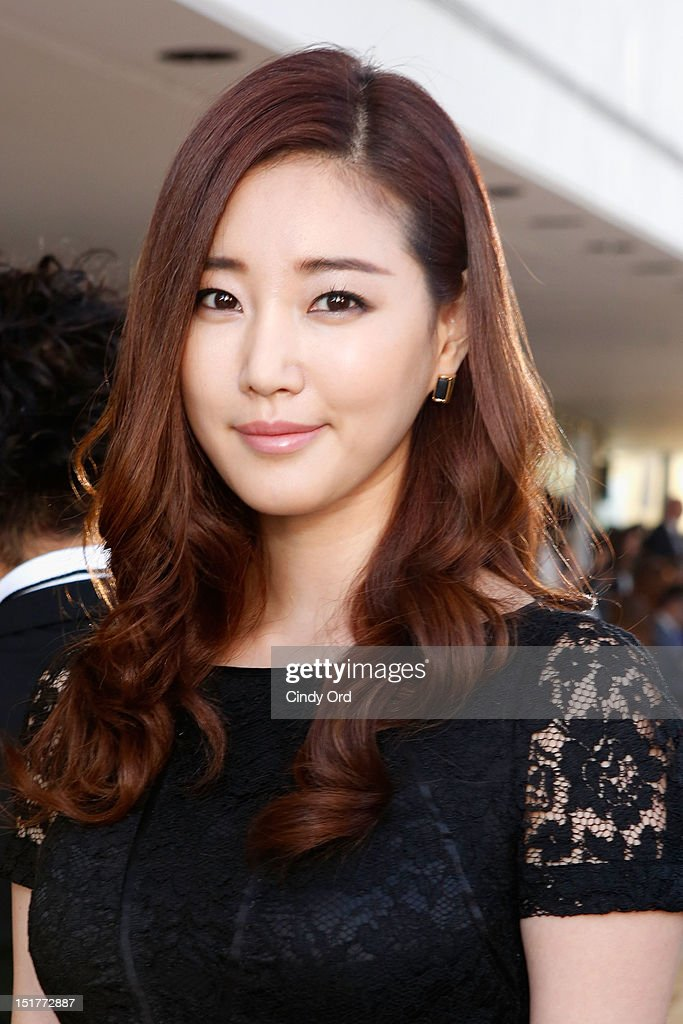 Actress Kim SaRang attends the Tory Burch Runway Show during the Spring 2013 MercedesBenz Fashion Week at Avery Fisher Hall at Lincoln Center on...