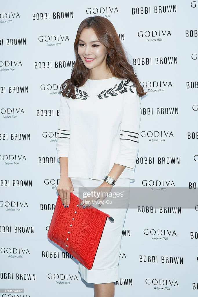 Actress Kim Se-A attends during the Bobbi Brown 'Rich Chocolate Collection' Launching Party With Godiva at Godiva flagship store on September 6, 2013 in Seoul, South Korea.
